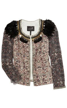 Look perfecto para acudir a Vogue Fashion Night Out: chaqueta de Isabel Marant
