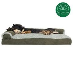 FurHaven Pet Bed   Two-Tone Faux Fur & Suede Deluxe Chaise Lounge Pillow Sofa-Style Dog Bed (Small - Dark Sage), Dark Green :  FurHaven Pet Bed   Two-Tone Faux Fur & Suede Deluxe Chaise Lounge Pillow Sofa-Style Dog Bed (Medium – Dark Sage), Dark Green  #bed #Chaise #Dark #Deluxe #Dog #Faux #Für #FurHaven #green #lounge #Pet #Pillow #Sage #Small #SofaStyle #Suede #TwoTone Sofa Pillow Covers, Sofa Pillows, Animal Backpacks, Canapé Design, Dog Beds For Small Dogs, Sofa Styling, Cozy Place, Animal Pillows, Pet Beds