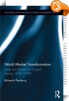 World Market Transformation    :  To the surprise of many, regionally embedded clusters of small to medium sized businesses have continued to exist in spite of industrialisation and mass production. While scholars have discovered that the advantages of embeddedness in terms of industrialisation were situated in interfirm cooperation and conflict resolving mechanisms, it is far less clear how changing historical circumstances on the world market, i.e. globalisation, affected such system...