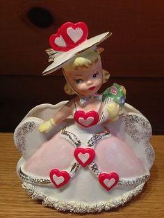 Rubens Samson 1958 Vintage Valentine Girl Lady Planter | eBay