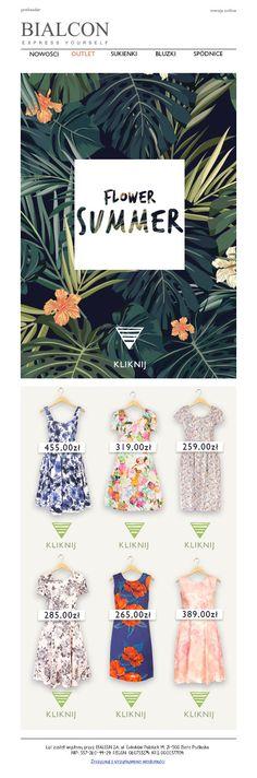 Flower Summer na Bialcon.pl  #flower #summer #newsletter #lato #kwiaty #bialcon #rabarbar #fastwhitecat