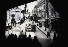 Old views of Linz are at the focal point of another edition of Deep Space LIVE at the Ars Electronica Center.