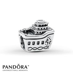 Pandora Charm Cruise Ship Sterling Silver----------@the red stitch Marozas we are getting this charm for when we take the girls on the Disney cruise!