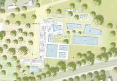 ein 2. Preis: Grundriss EG, © 4a Architekten