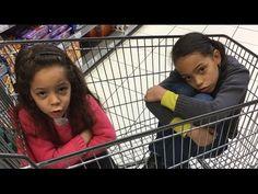 """#DrolesDeCourses de """"Maman je m'ennuie!""""    Les courses c'est ennuyant et c'est trop long? Alors regarde comment ça peut devenir très drôle."""