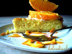 dolce di ricotta all'arancia