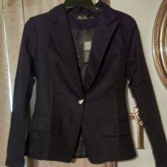 Blk Sz Large Simple Coat