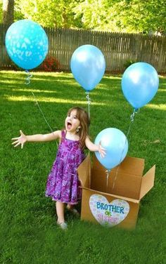 Rockin' another baby bump? Disclose your exciting news news with these fun pregnancy announcement and gender reveal ideas! From parties to piñatas, you've got a lot of options when it comes to announcing your surprise. Letting the soon-to-be big sister or brother in on the fun is a great idea too—little kids make everything more entertaining.