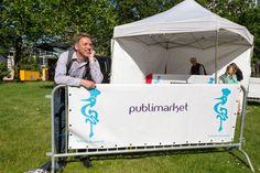 The organiser - Rogier Bakker - is waiting for us!