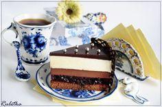 Торт с суфле и ягодной прослойкой Шоколадное кружево.. Рецепт c фото от chef Ruletka 04 марта 2012, 18:02, мы подскажем, как приготовить!