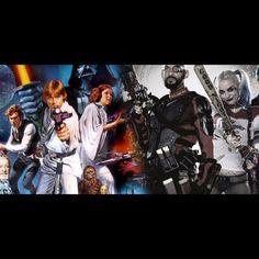 Star Wars Done In Suicide Squad Style Image Credit: comicbook.com  SuicideSquadShop.com #SuicideSquad #SuicideSquadShop