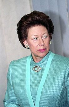 Princess Margaret, Countess of Snowden. Princess Margaret was the only sister of Queen Elizabeth. She was married to Antony Armstrong-Jones, but she actually wanted to marry one of her father's equerries, Capt. Peter Townsend. She was denied this marriage because he was a divorced older man. She and Armstrong-Jones had two children before they divorced. Princess Margaret died of lung disease and a series of strokes in 2002.