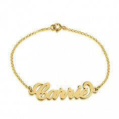 40dbf6813a36 Pulseras y brazaletes personalizados con tu Nombre e Iniciales · Pulsera