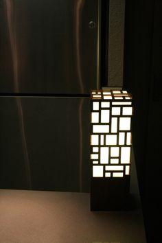 Walnut laser cut floor lamp Make A Lamp, Wood Plaques, Light Project, Lampshades, Lamp Design, Home Accents, Wood Art, Floor Lamp, Light Fixtures