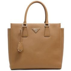 Prada Caramel Saffiano Lux Convertible Tote - modaselle Prada Saffiano, Designer Handbags, Convertible, Rolex, Caramel, Louis Vuitton, Luxury, Couture Bags, Sticky Toffee