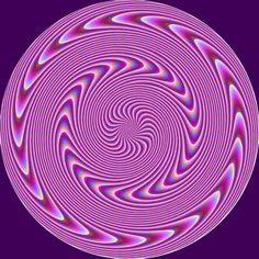 Purple Spiral Mandala. Feel the Energy?