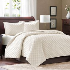 Micro Velour Coverlet Set - 3 pc.- King - Sam's Club Ivory $54.98 @KidsHappen If you could find this in your Sam's Club this would be a good couple gift for our Christmas wish list. (They don't have Ivory at our store.)