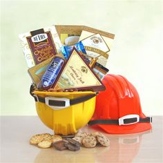 For all you Construction Workers out there get this one of a kindHard Hat Extravaganza : gift ideas for construction workers - princetonregatta.org