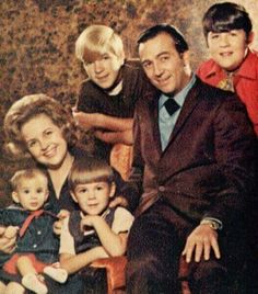 The Faron Young family, ca 1970