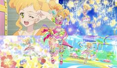 Aikatsu! Stars: Yuzu Nikaido Collage (Saturn) by ArtisticAries91