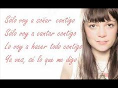 Letra Contigo - Natalia Lafourcade Con  El Canto Del Loco