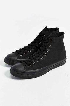 469dfadc27 Converse Chuck Taylor All Star 70s Mono High-Top Men's Sneaker- Black  Schwarze Converse