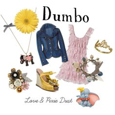 """Dumbo"" by loveandpixiedust on Polyvore"