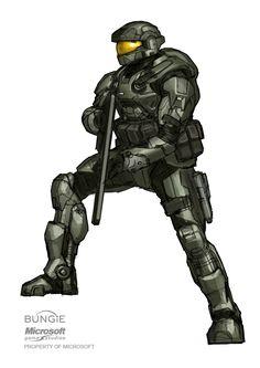 Halo: REACH Spartan