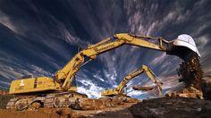 Ťažké stroje ako z inej galaxie Sci Fi, Building, Image, Science Fiction, Buildings, Construction