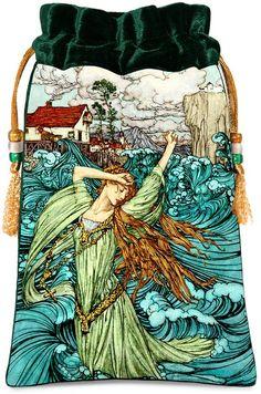 Undine by Arthur Rackham Victoriana fairytale by BabaStudioPrague, $22.00