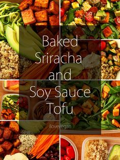 Sriracha & Soy Sauce Tofu {Recipe & Step-by-Step Instructions} | ilovevegan.com