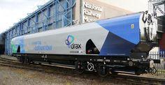 Drax unveils high-volume biomass wagon