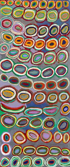 ymutate:  Dadda Samson: Kartujarra born c.1933 Puntuwarri 2009   source: artblart
