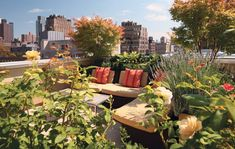 16 Ideas How To Create Classy Rooftop Gardens That Are A Treat For The Eyes - Top Inspirations