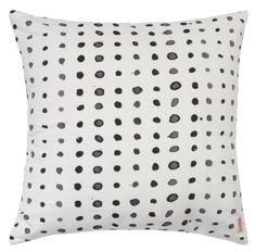 Image of Spots black/white cushion cover White Cushion Covers, White Cushions, Black And White, Textiles, Image, Style, Black White, Blanco Y Negro, Black N White