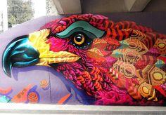 https://flic.kr/p/ADDrym   Follow @BenLinero on Instagram and Twitter -------------------------------------------------- New mural by Farid Rueda in Bogota, Colombia. // Found via @streetartnews.   @benlinero