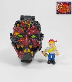 Mighty Max Rok Monster - Shrunken Heads - Bluebird Toys 1993 (1)
