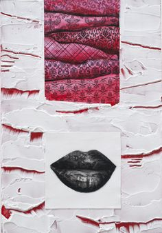 Totem (Crimson & Cream)  JBarberStudio - Weekly Art - Week8