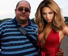 Eu e Beyoncé. Os invejosos dirão que é Photoshop....tsc tsc