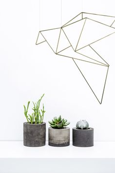Diy Origami himmeli by Origami Zoo Easy Crafts, Diy And Crafts, Hanging Air Plants, Cosy Winter, Geometric Wedding, Diy Origami, Beading Projects, Deco, Christmas Diy
