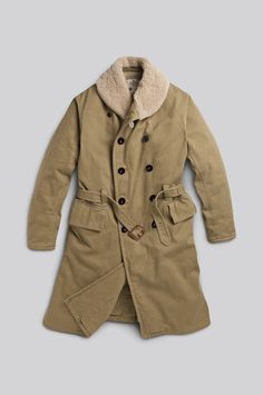 Taking inspirations from Military styles, Manchester based Men's fashion brand: Private White V.C is introducing a highly Limited Edition coat. Made from cotton drill fabric.