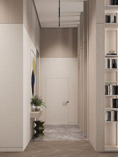 Hallway #hallway #modernhallway #minimalistichallway #minimalism #minimalisticarchitecture #minimalisticinterior #architecture #modernarchitecture #design #moderndesign #ideasforhallway Modern Hallway, Minimalist Interior, Modern Architecture, Minimalism, Modern Design, Garage Doors, Interior Design, Outdoor Decor, Home Decor