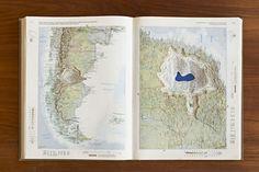 Maya Lin, atlas landscape 2006