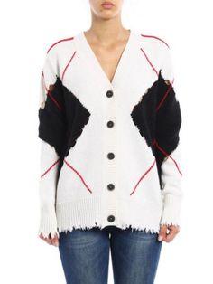 MSGM Msgm Rhombus Cardigan. #msgm #cloth #sweaters