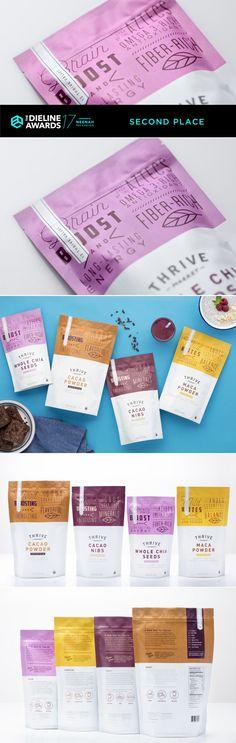 The Dieline Awards 2017: Thrive Market Organic Superfoods — The Dieline | Packaging & Branding Design & Innovation News