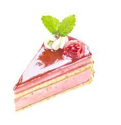 Strawberry sponge