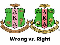 Always use the official AKA shield created by our Founders. Let's be accurate and correct. Always use the official AKA shield created by our Founders. Let's be accurate and correct. Aka Sorority Gifts, Sorority Outfits, Sorority Life, Alpha Kappa Alpha Founders, Kappa Alpha Psi Fraternity, Aka Founders, Happy Founders Day, Alpha Female, Pink And Green