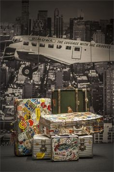 "RIMOWA, Luggage, Rome, Italy,""pinned by Ton van der Veer"