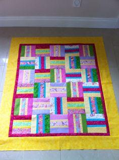 Bella's first quilt