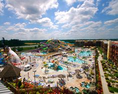Wisconsin Dells is the waterpark capital of the world!